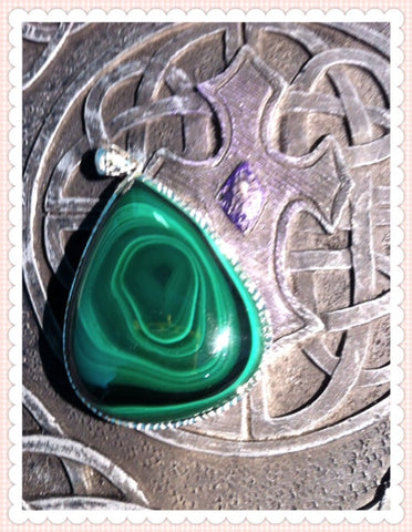Pendant- Malachite * collectors' item