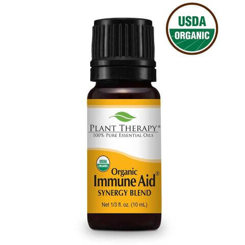 Plant Therapy- Immune Aid Synergy Organic Essential Oil 10 ml
