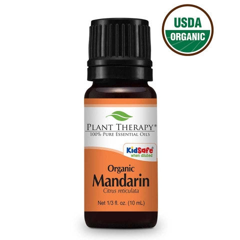 Plant Therapy- Mandarin Organic Essential Oils 10ml