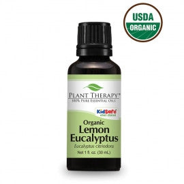Plant Therapy- Eucalyptus (Lemon) ORGANIC Essential Oil 30ml