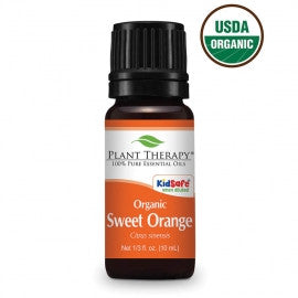 Plant Therapy- Orange (Sweet) Organic Essential Oils 10ml