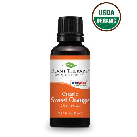 Plant Therapy- Orange (Sweet) Organic Essential Oils 30ml