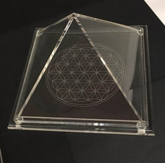 Pyramid Flower of LIfe Chamber- 3 various sizes