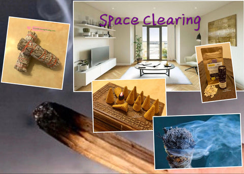 Introduction to various Smudge Sage for Space Clearing ** 28th Jan 2021