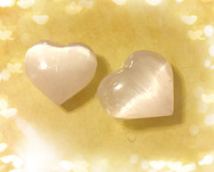 Crystal Selenite- Heart shaped