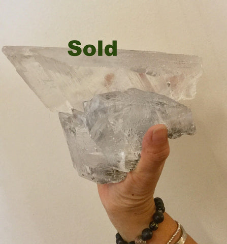 Selenite raw pieces from Mexico