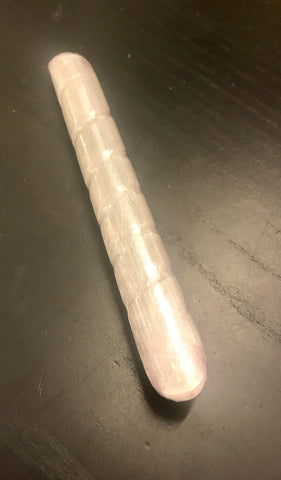 Selenite Wand Spiral- 100gm; 160mm