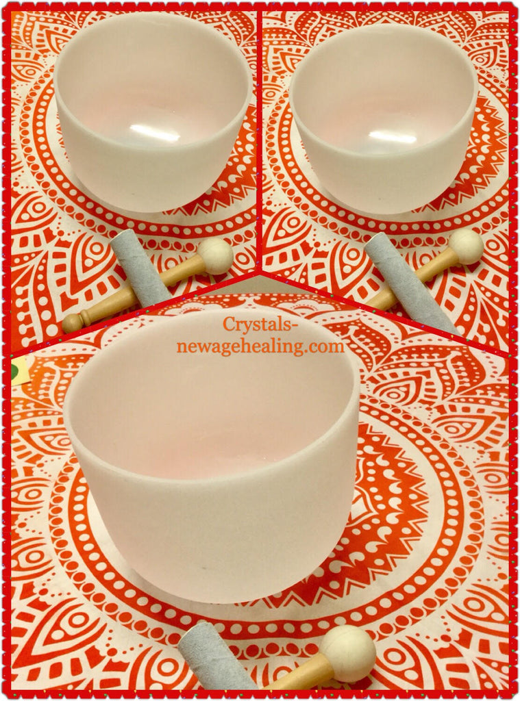 Singing Bowls- Frosted 8