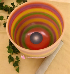 "Singing Bowls- Rainbow 8""   ( 九层糕 ) for 3rd Eye"