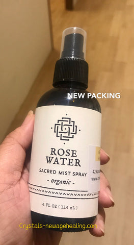 Spray Organic Rose water 114ml
