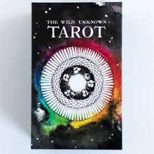 Tarot- The Wild Unknown Tarot Deck & Guidebook- by Kim Krans