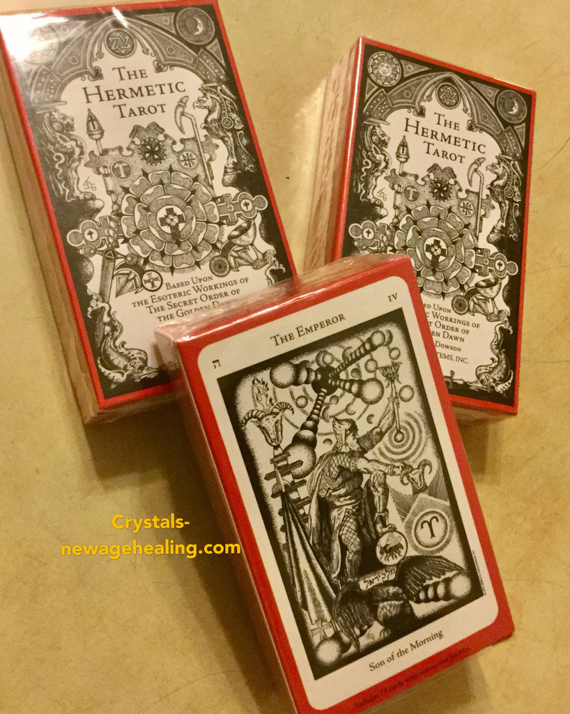 The Hermetic Tarot Deck by Godfrey Dowson | Qi New AGe