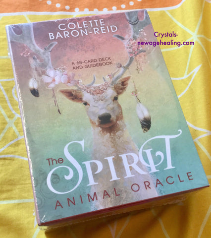 Oracle cards- The Spirit Animal Oracle by Colette Baron-Reid