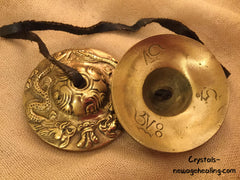 Tingsha Cymbals estimated 60mm
