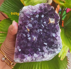 Amethyst Deep Purple cluster 949g