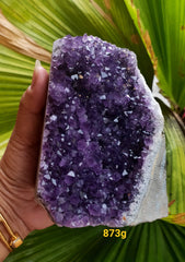 Amethyst Deep Purple cluster 873g