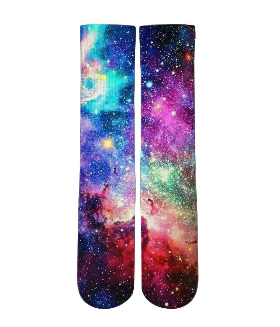 Super Nova galaxy socks - Elite sublimated crew socks - DopeSoxOfficial