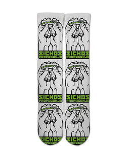 Roll Up all Day Weed Printed Socks - DopeSoxOfficial
