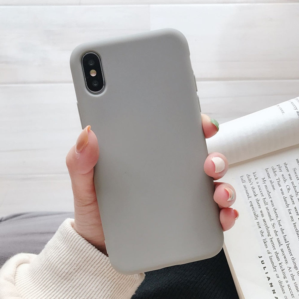 Various Minimalistic Phone Cases (Incl. Boba Phone Case) - BobaStrawStore