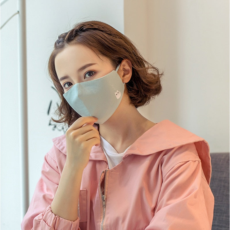 Washable Anti-bacterial Dust Face Mask - BobaStrawStore