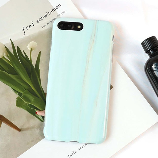 Granite Marble Texture Phone Cases - BobaStrawStore