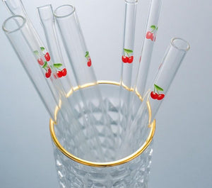 Reusable Glass Straw Pack - BobaStrawStore