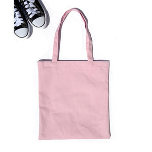 Cute Canvas Casual Tote - BobaStrawStore
