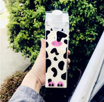 Milk Carton Water Bottle - BobaStrawStore