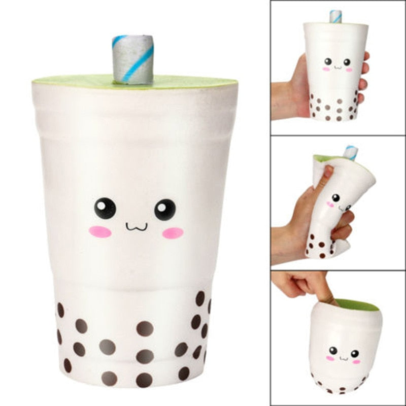 Jumbo Bubble Tea Cup Squishy - BobaStrawStore