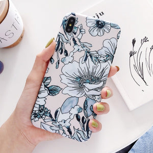 Floral Phone Case - BobaStrawStore
