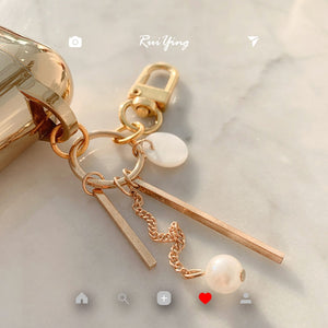 Luxury Gold/Silver AirPods Case - BobaStrawStore