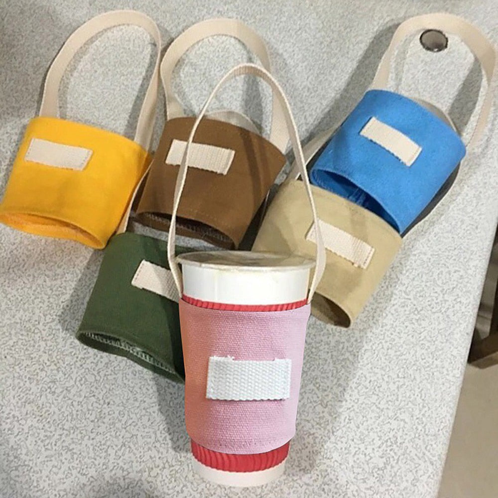 Sustainable Portable Boba Cup Bag - BobaStrawStore