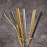 x2 Reusable Boba/Smoothie Straws + Brush - BobaStrawStore