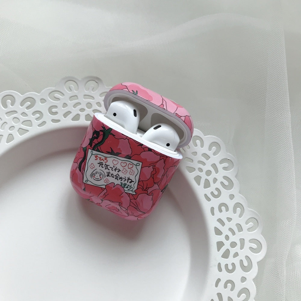 Spirited Away Style AirPods Case - BobaStrawStore