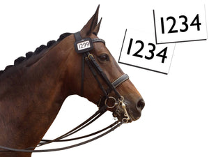 Bridle Number Holders