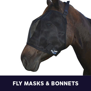 Fly Masks & Bonnets
