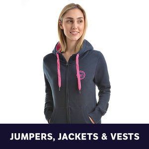 Womens Jumpers, Jackets & Vests