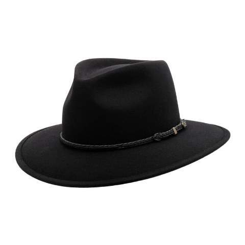 Akubra Travelller Black - Gympie Saddleworld & Country Clothing