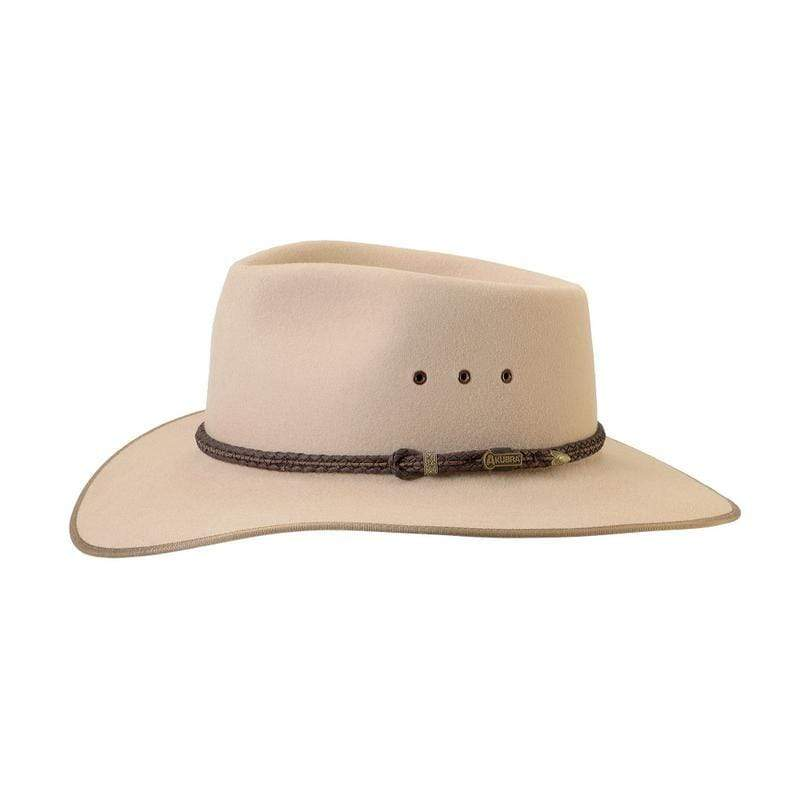 Akubra Cattleman Sand - Gympie Saddleworld & Country Clothing
