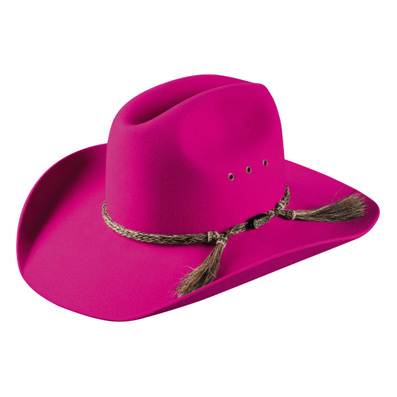 Akubra Rough Rider Magenta - Gympie Saddleworld & Country Clothing