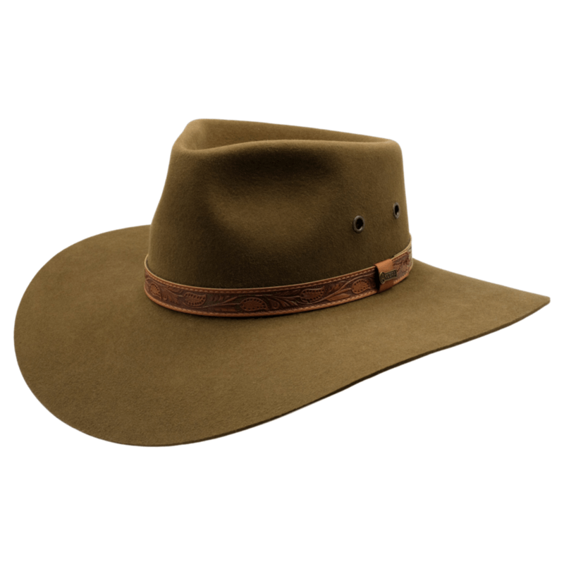 Akubra Territory Khaki - Gympie Saddleworld & Country Clothing
