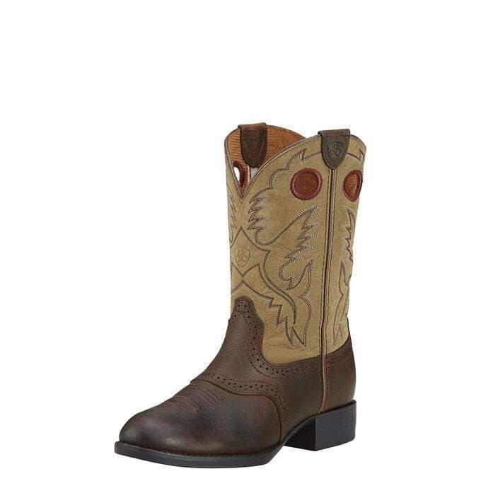 Ariat Kids Stockman Boots Brown (10001798) - Gympie Saddleworld & Country Clothing