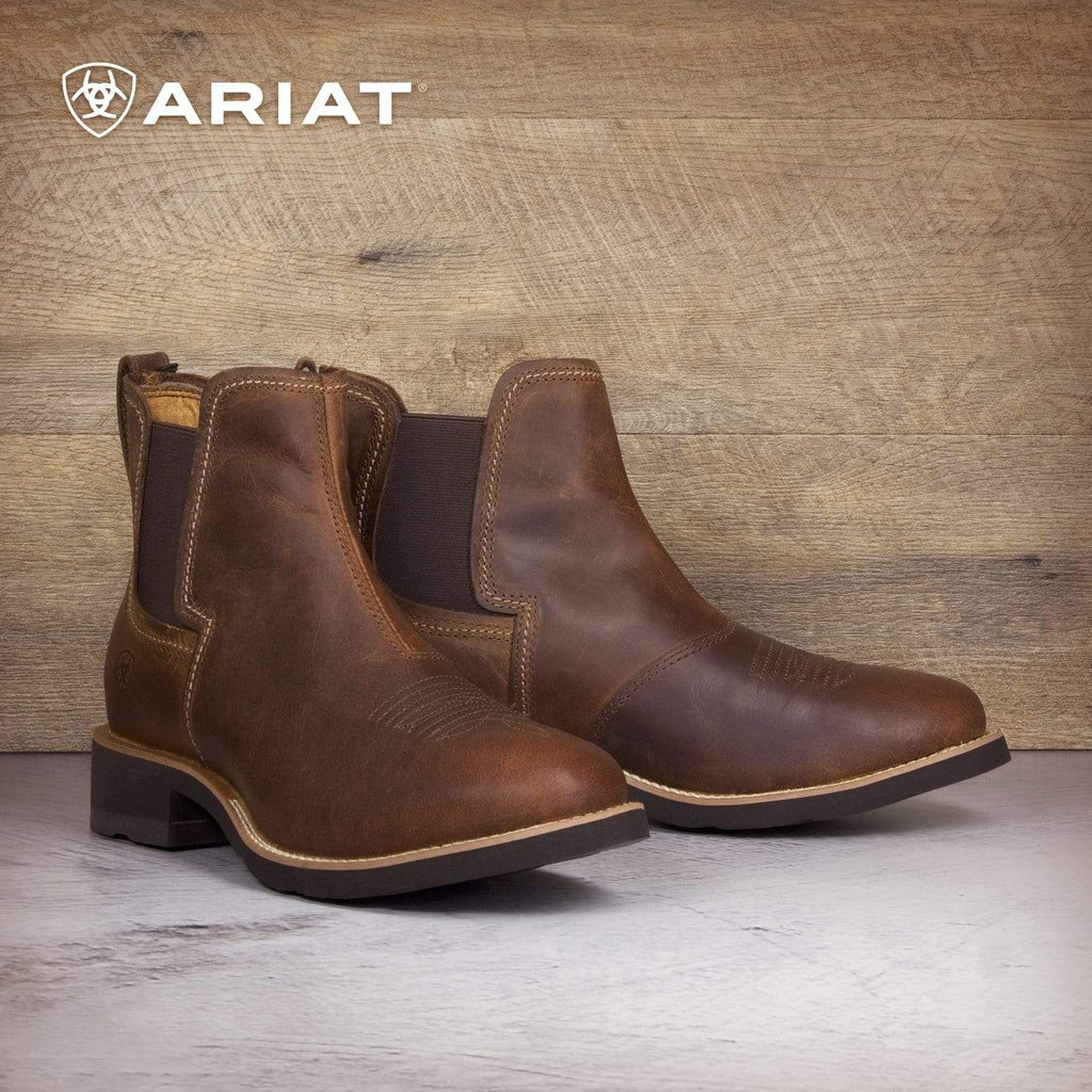 Ariat Mens Boots Ariat Mens Ambush Boots Distressed Brown