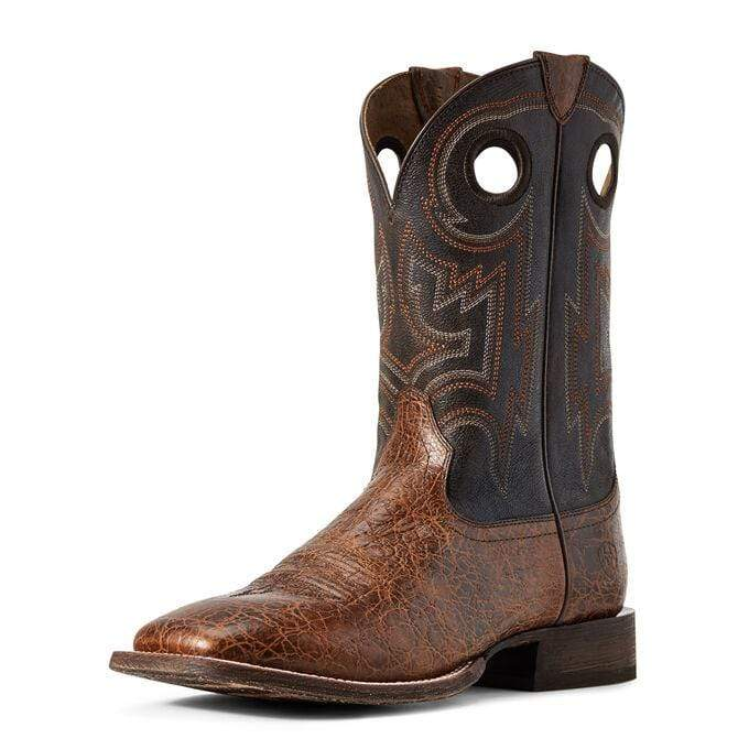 Ariat Mens Boots Ariat Mens Circuit Pro Adobe Boots Clay Cola 10029623