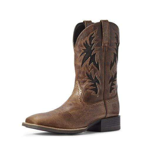 Ariat Mens Sport Cool Venttek Boots Dark Tan 10031446 - Gympie Saddleworld & Country Clothing