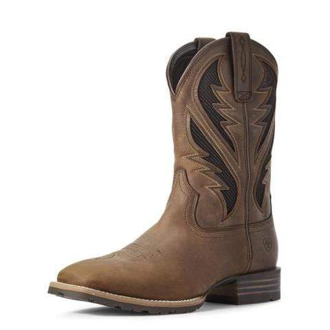 Ariat Mens Boots & Shoes 10 / Distressed Tan Ariat Mens Hybrid Venttek 10031454
