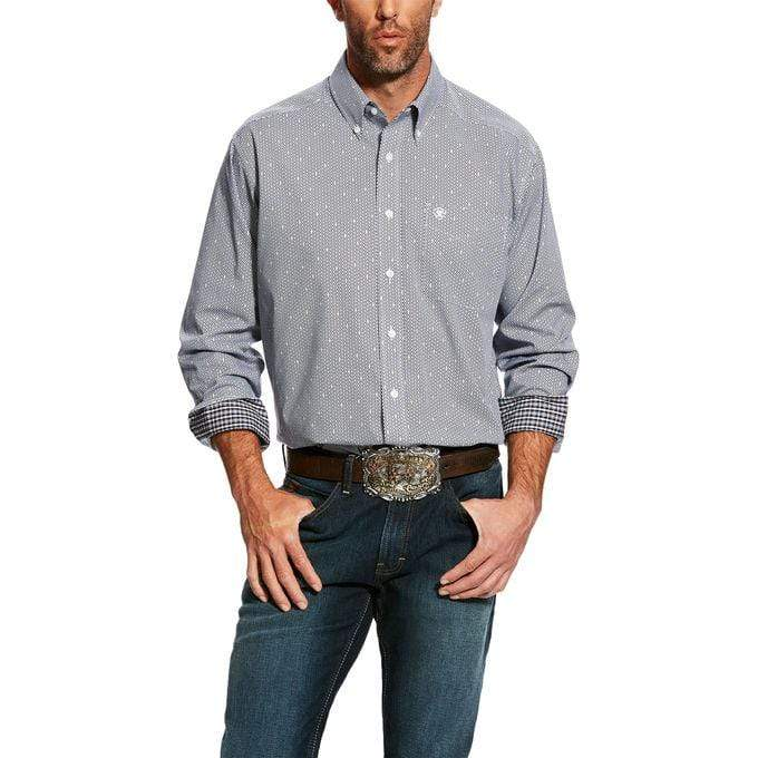 Ariat Mens Shirts Ariat Mens Wrinkle Free Lannes Shirt