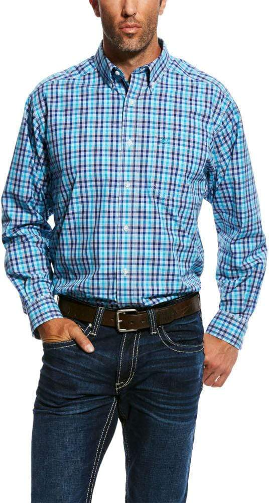 Ariat Mens Noldus Long Sleeve Performance Shirt Multi (10026471) - Gympie Saddleworld & Country Clothing