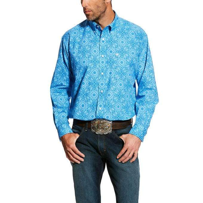 MEN'S Ebron LS Print Shirt Multi - Gympie Saddleworld & Country Clothing