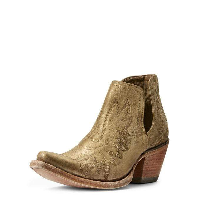 Ariat Womens Gold Dixon Boots Gold 1002787 - Gympie Saddleworld & Country Clothing